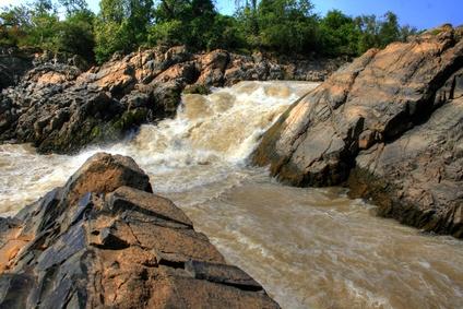 Wasserfälle in der Nähe von Don Det (Laos)