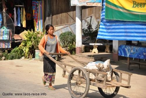 Straßenimpressionen in Laos