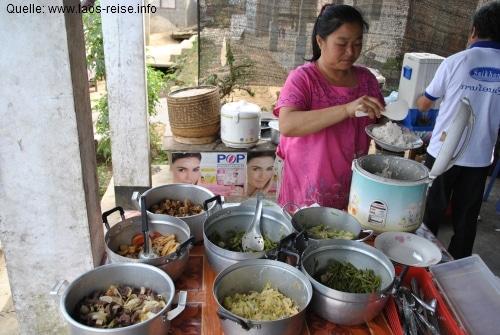 Garküchen in Laos