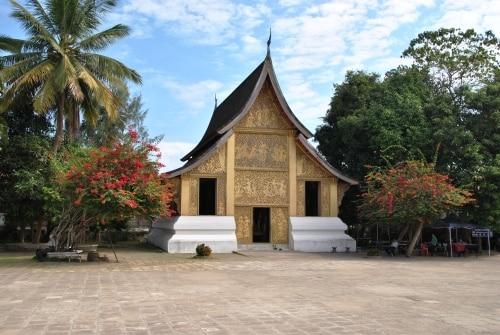 Der Wat Xieng Thong in Luang Prabang