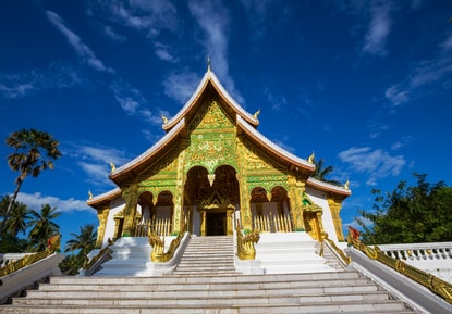 Buddhistischer Tempel in Luang Prabang
