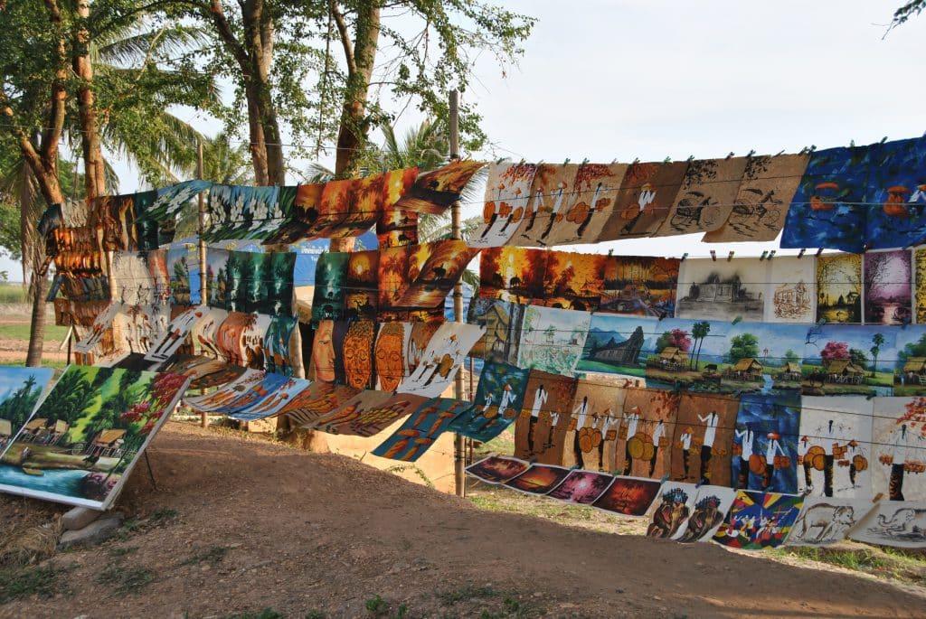 Kunst und Kultur werden in Laos maßgeblich von den Nachbarländern beeinflusst