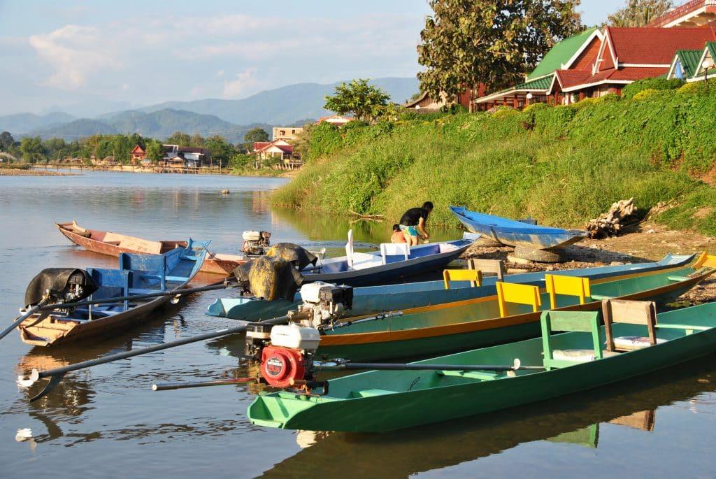 Luang Prabang ist malerisch am Mekong gelegen