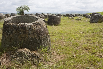 Ebene der Tonkrüge bzw. Plain of Jars, Laos