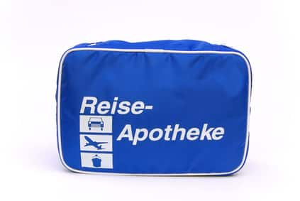 Reiseapotheke für Laos - first aid travel kit