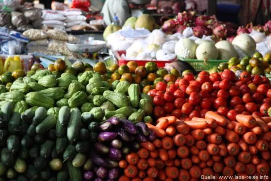 Vientiane: Marktimpressionen