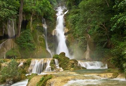 Wasserfall im Norden von Laos